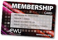 CWU Membership Card