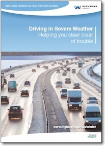 Highways Agency Leaflet  - Driving in Severe Weather