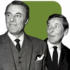 Hugh Paddick and Kenneth Williams (LGBT History Month)