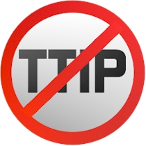 No TTIP sign
